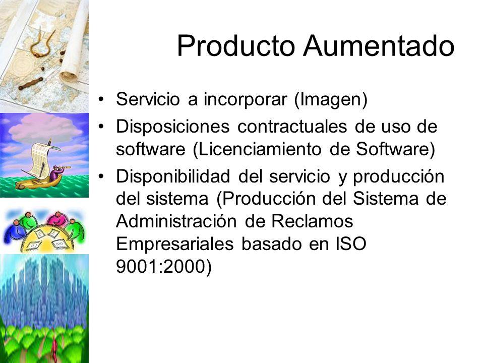 Producto Aumentado Servicio a incorporar (Imagen)