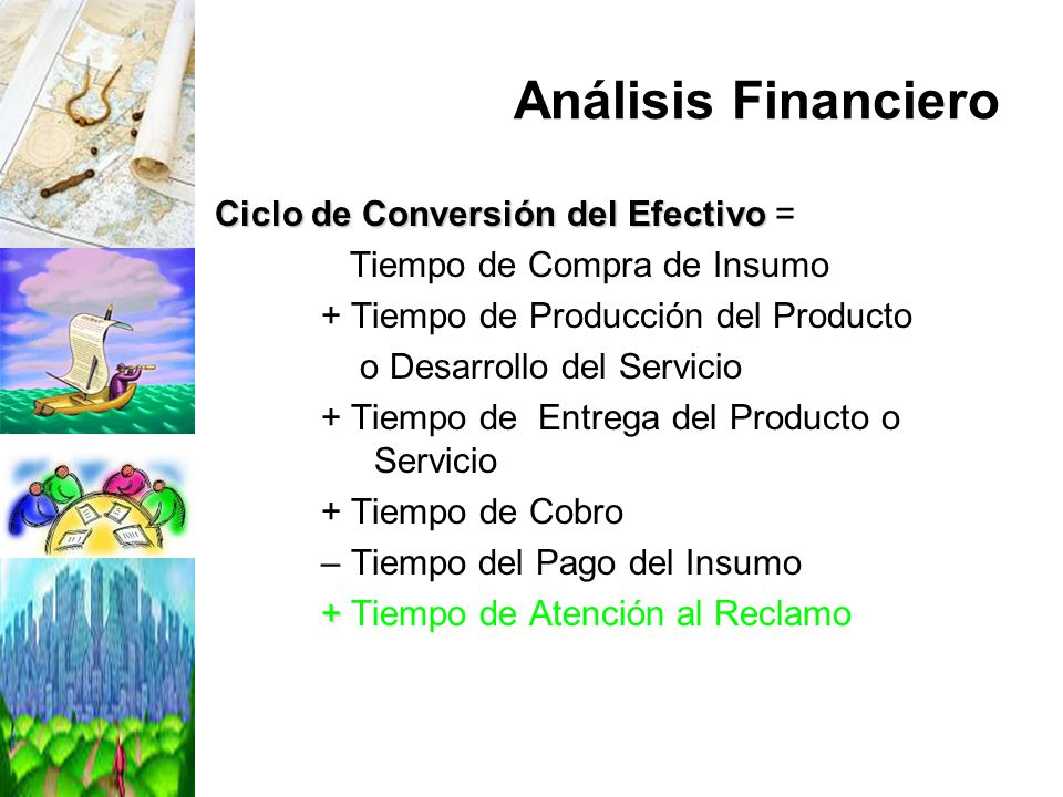 Análisis Financiero Ciclo de Conversión del Efectivo =