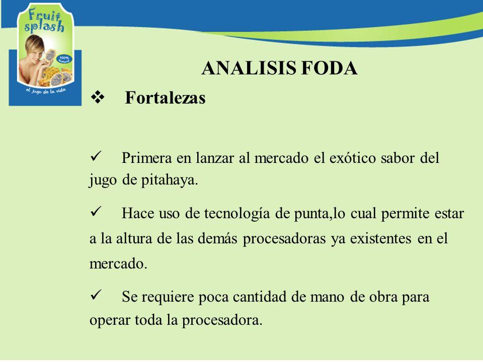 ANALISIS FODA Fortalezas