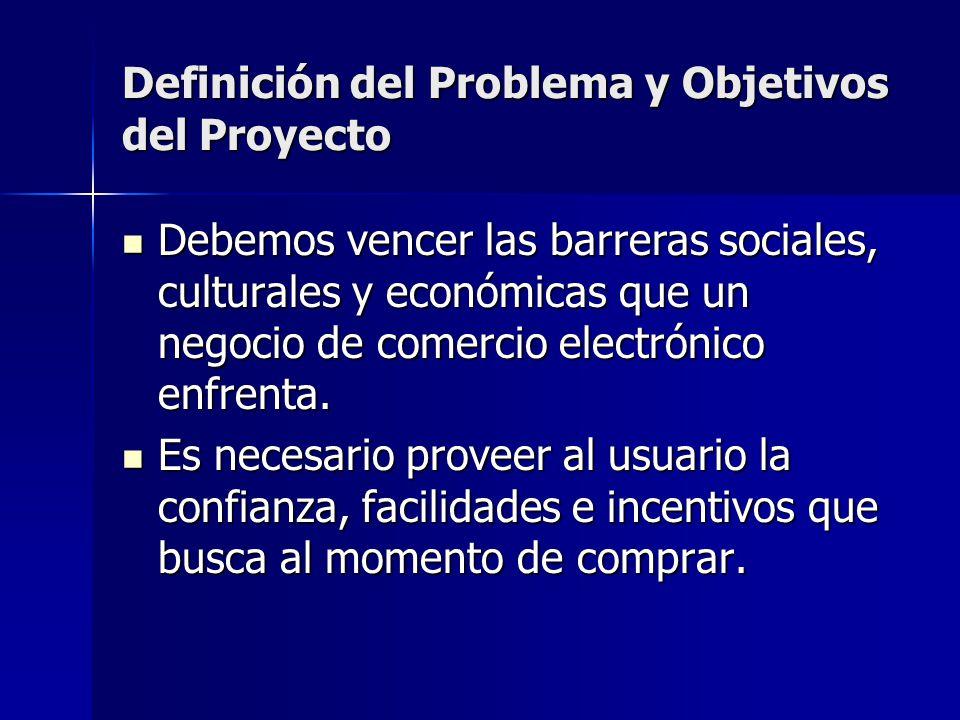 Definición del Problema y Objetivos del Proyecto