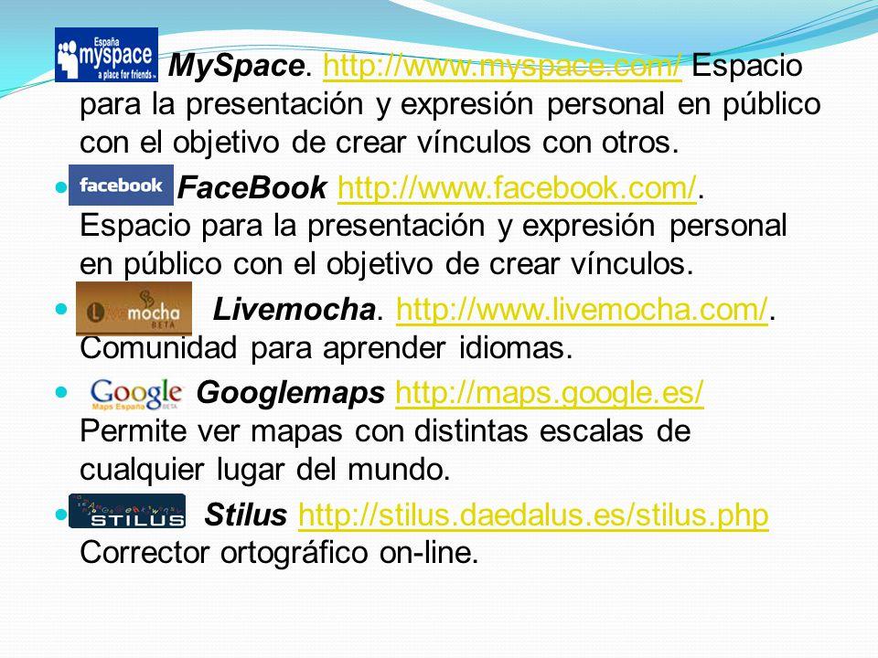 MySpace. http://www. myspace