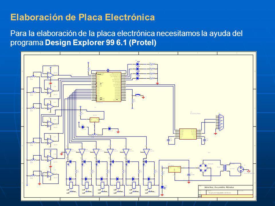 Elaboración de Placa Electrónica