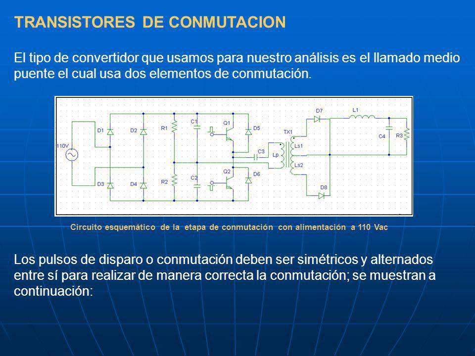 TRANSISTORES DE CONMUTACION