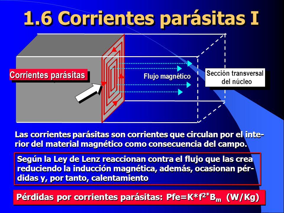 1.6 Corrientes parásitas I