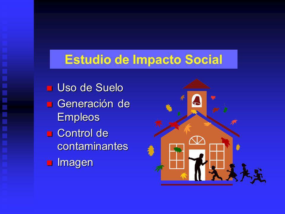 Estudio de Impacto Social