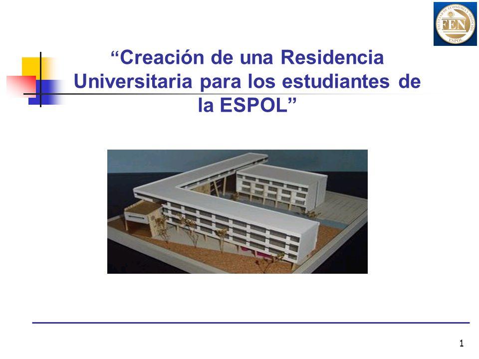 Creación de una Residencia Universitaria para los estudiantes de la ESPOL