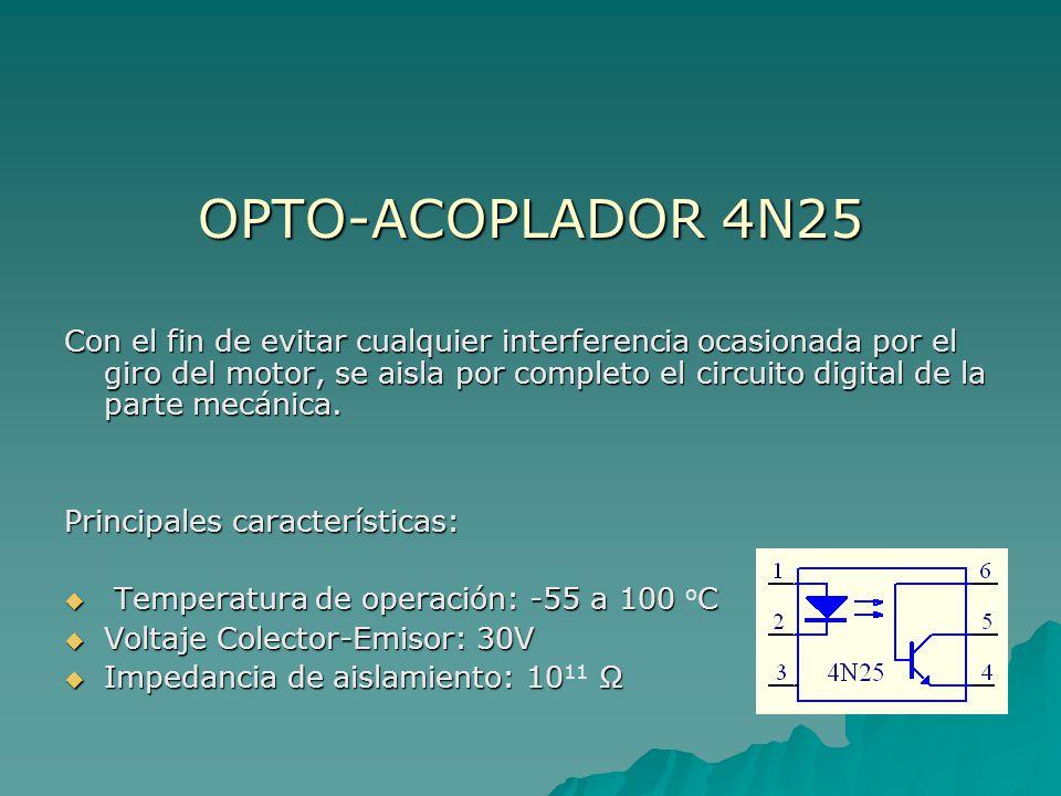 OPTO-ACOPLADOR 4N25