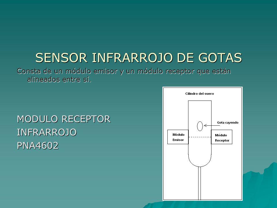 SENSOR INFRARROJO DE GOTAS
