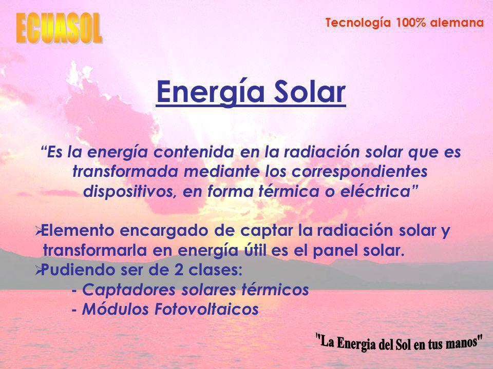 La Energia del Sol en tus manos