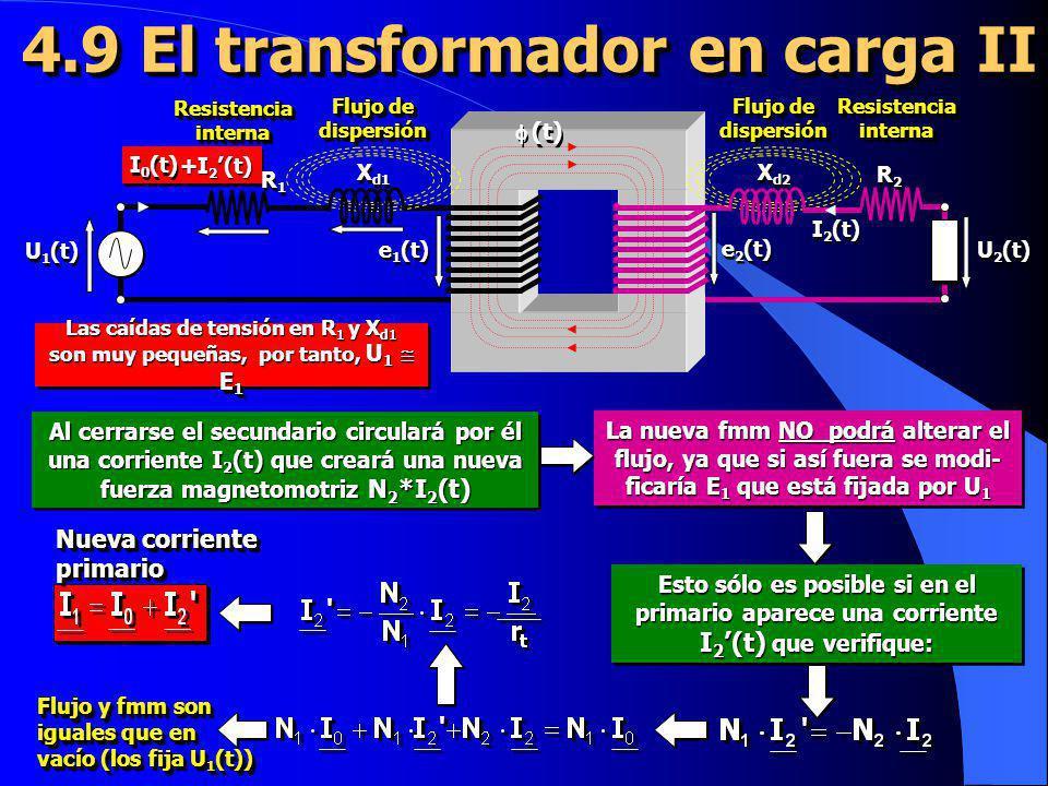 4.9 El transformador en carga II