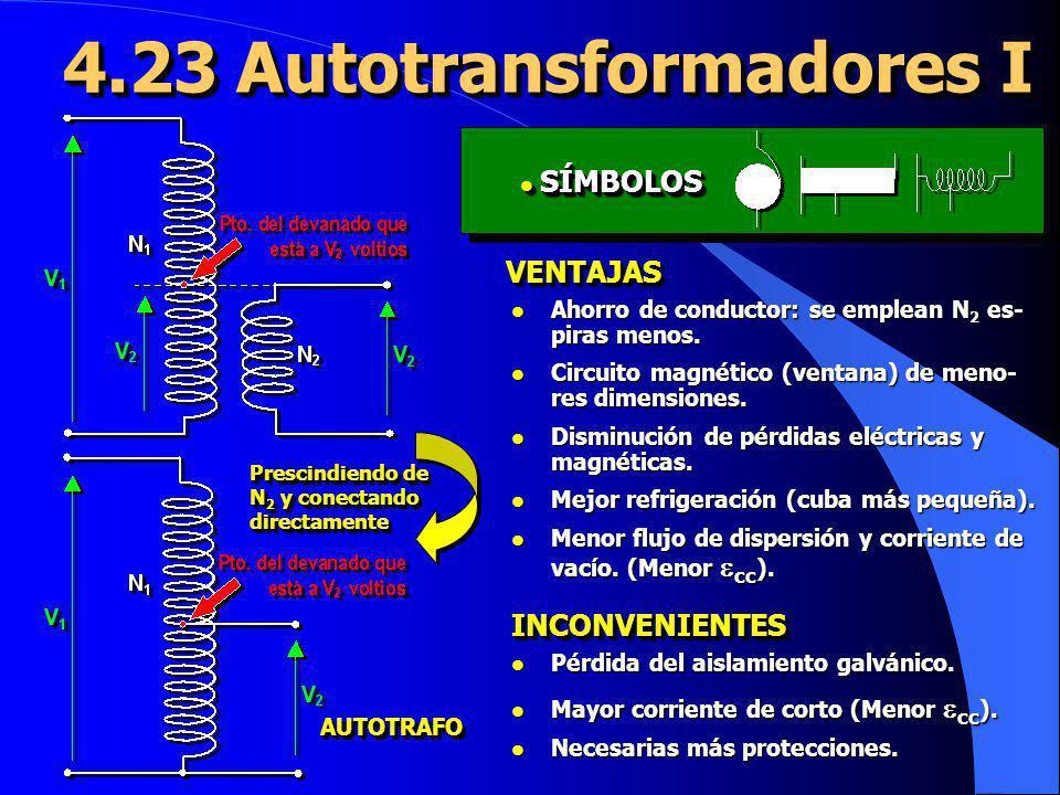 4.23 Autotransformadores I
