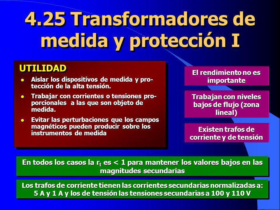 4.25 Transformadores de medida y protección I