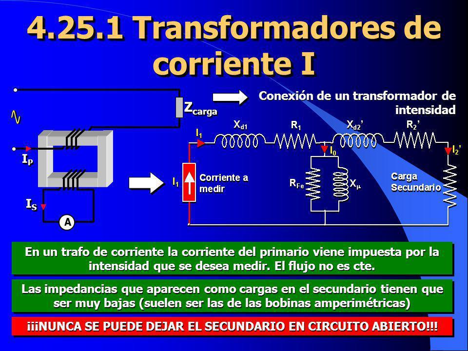 4.25.1 Transformadores de corriente I
