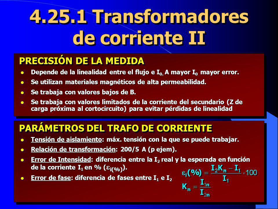 4.25.1 Transformadores de corriente II