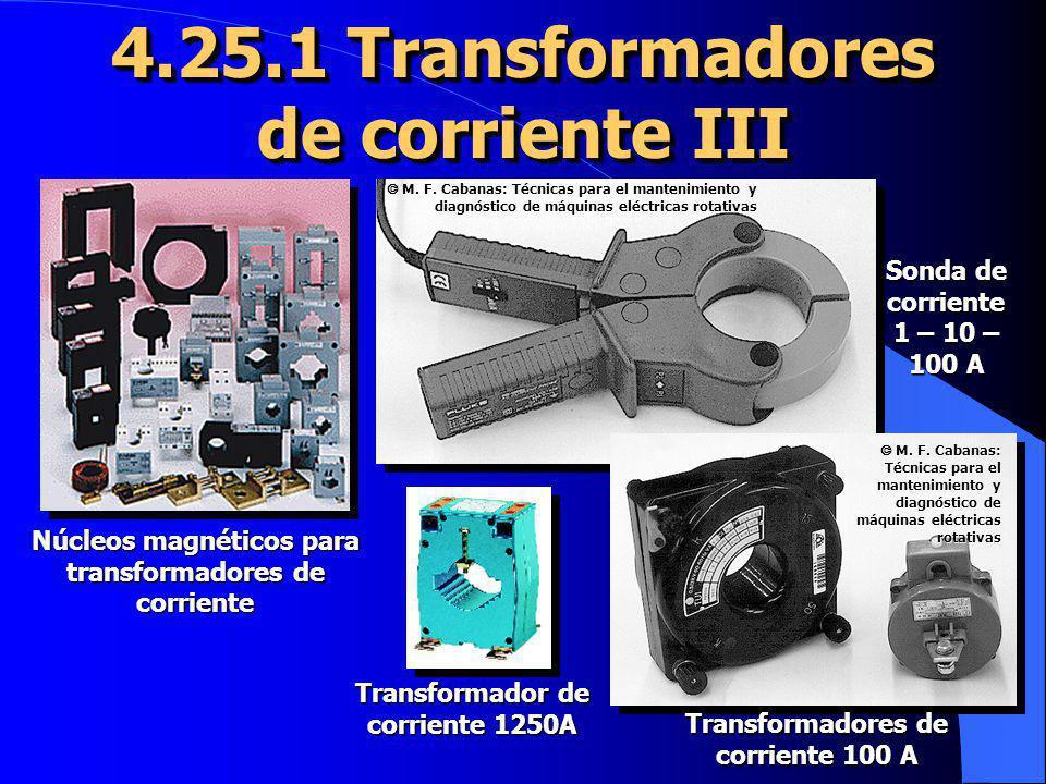 4.25.1 Transformadores de corriente III