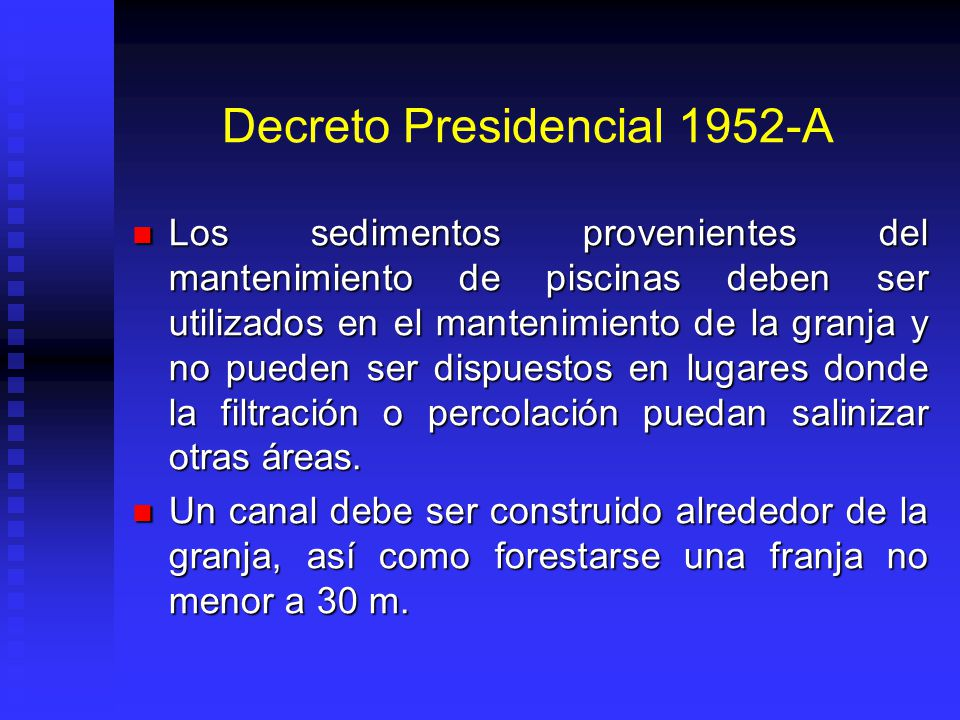 Decreto Presidencial 1952-A