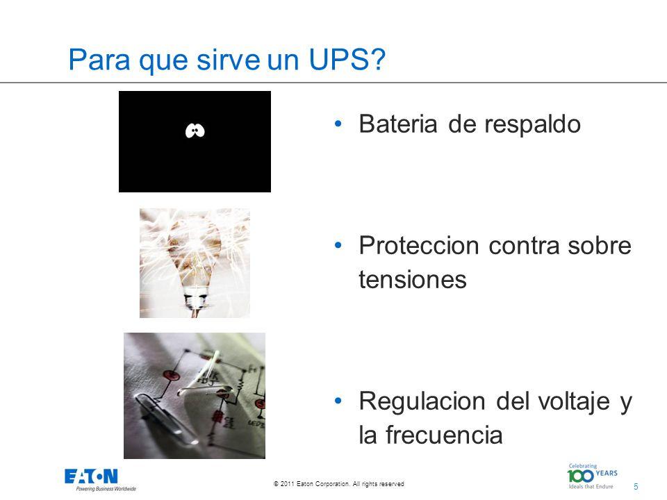 Para que sirve un UPS Bateria de respaldo