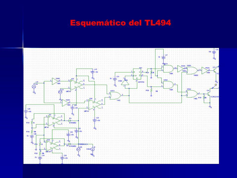 Esquemático del TL494