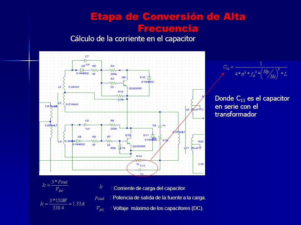 Etapa de Conversión de Alta Frecuencia