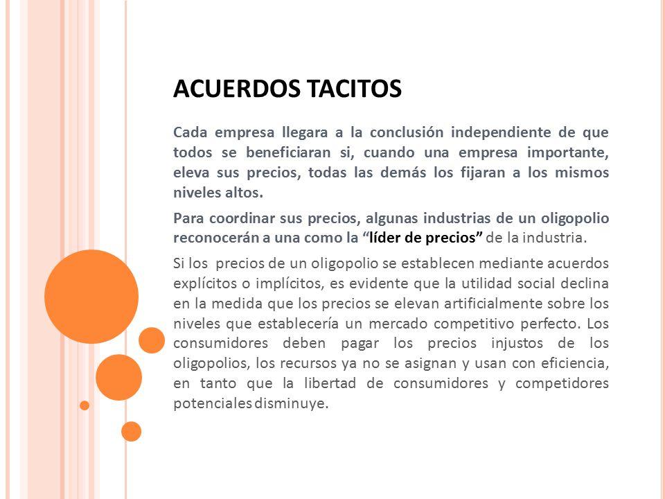 ACUERDOS TACITOS