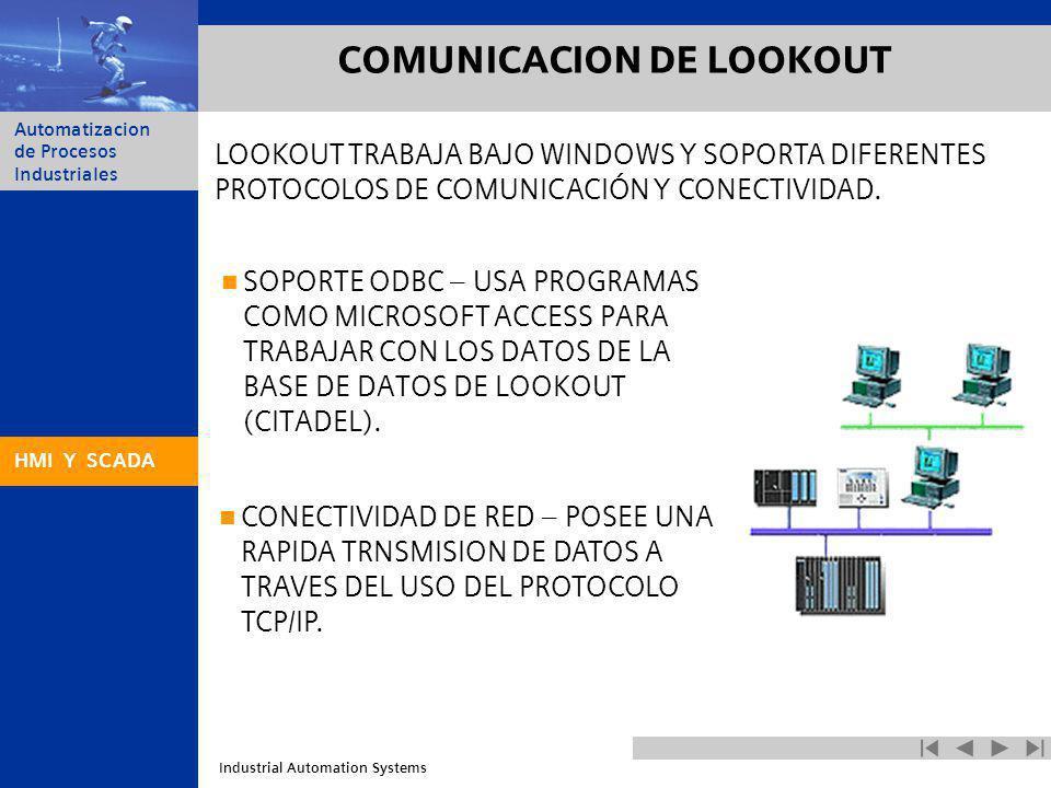 COMUNICACION DE LOOKOUT