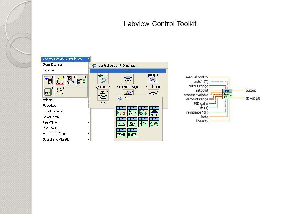 Labview Control Toolkit