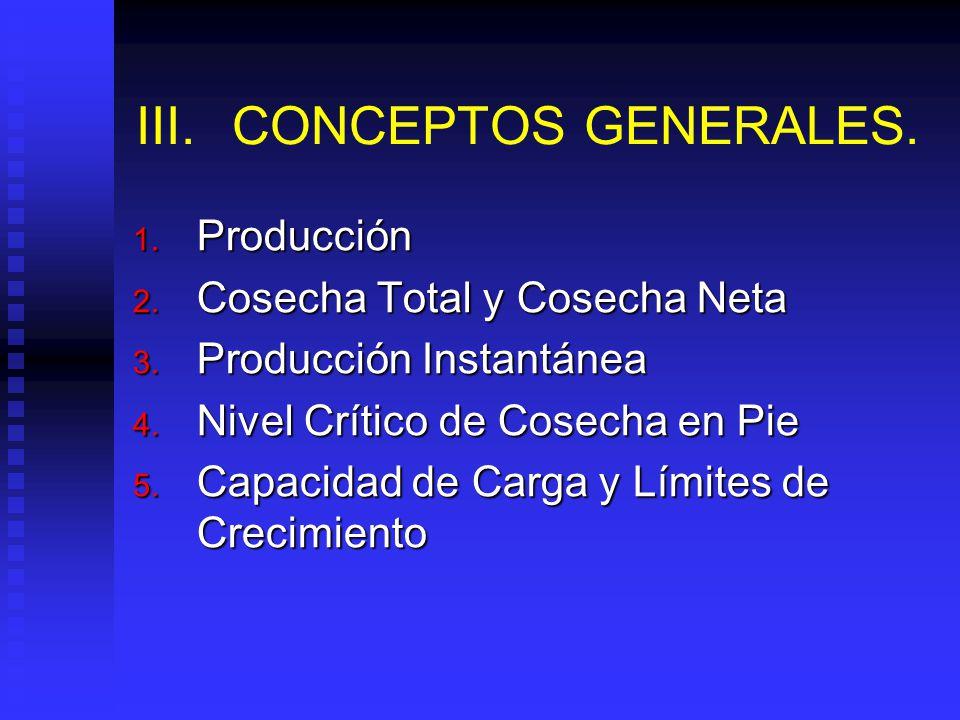 III. CONCEPTOS GENERALES.