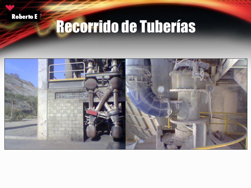 Roberto E Recorrido de Tuberías