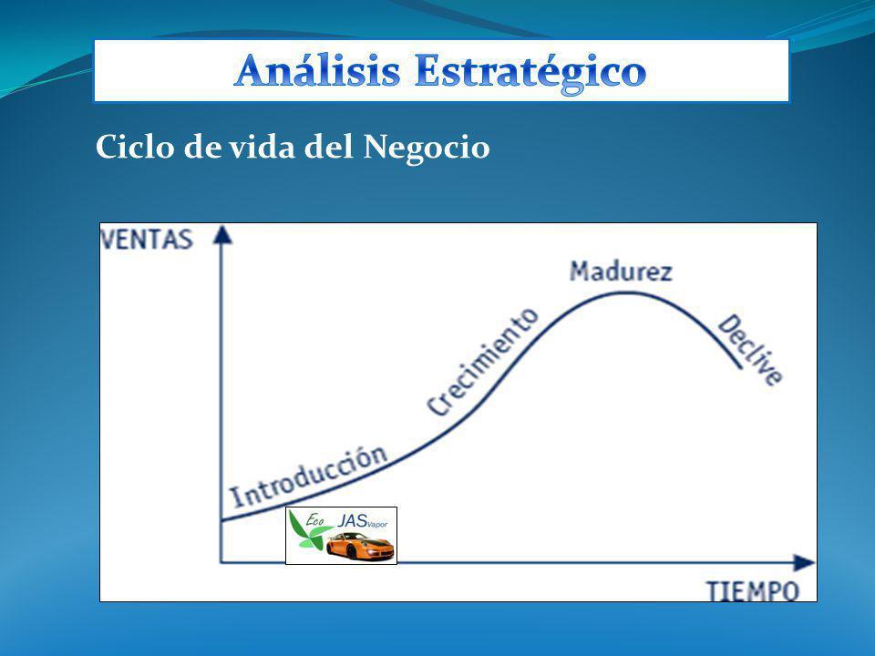 Análisis Estratégico Ciclo de vida del Negocio