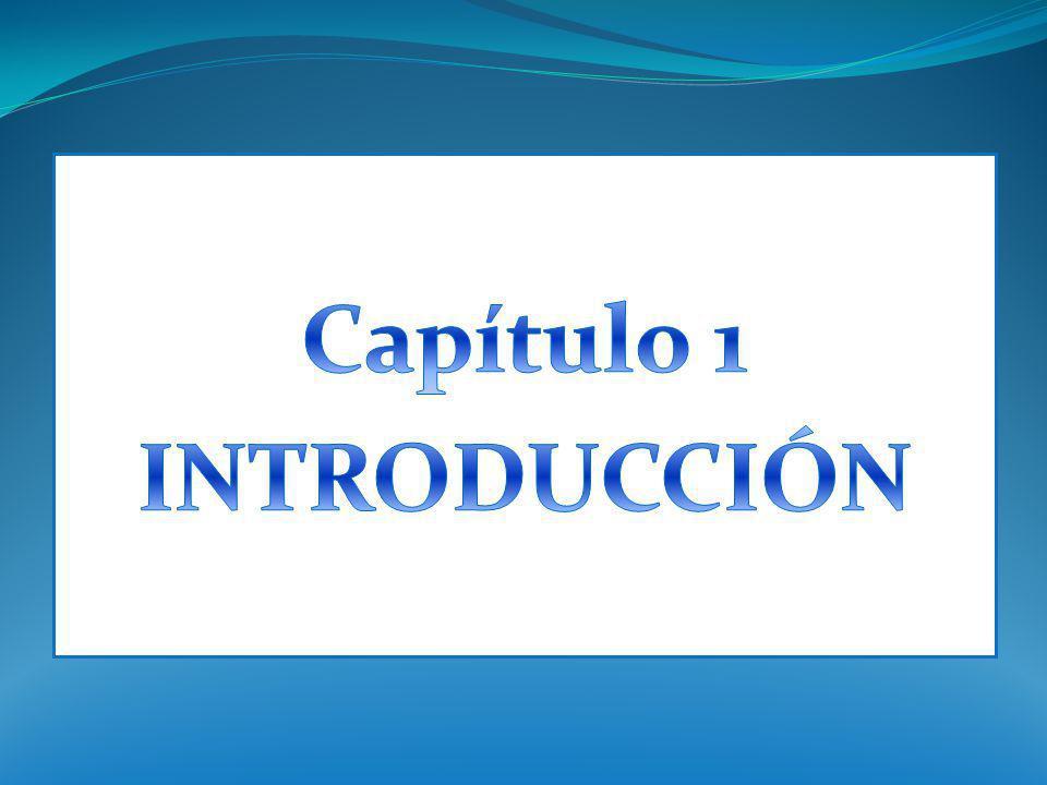 Capítulo 1 INTRODUCCIÓN
