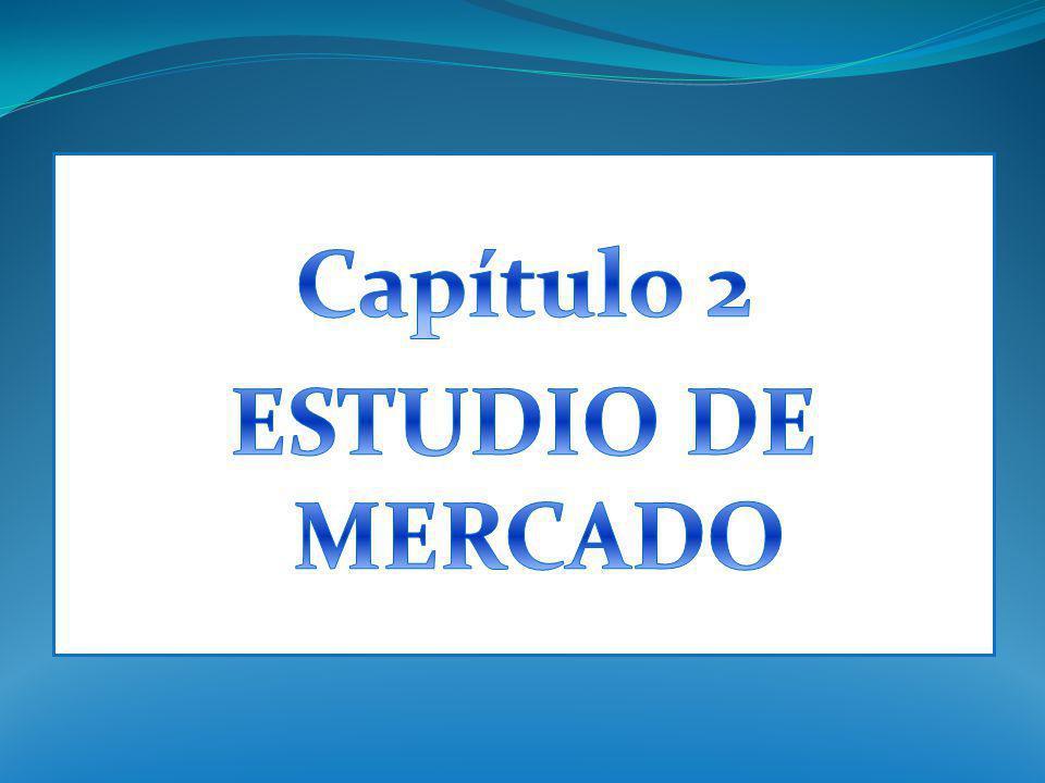 Capítulo 2 ESTUDIO DE MERCADO