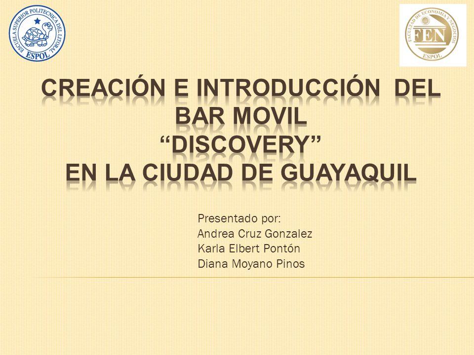 CREACIÓN E INTRODUCCIÓN DEL BAR MOVIL EN LA Ciudad DE GUAYAQUIL