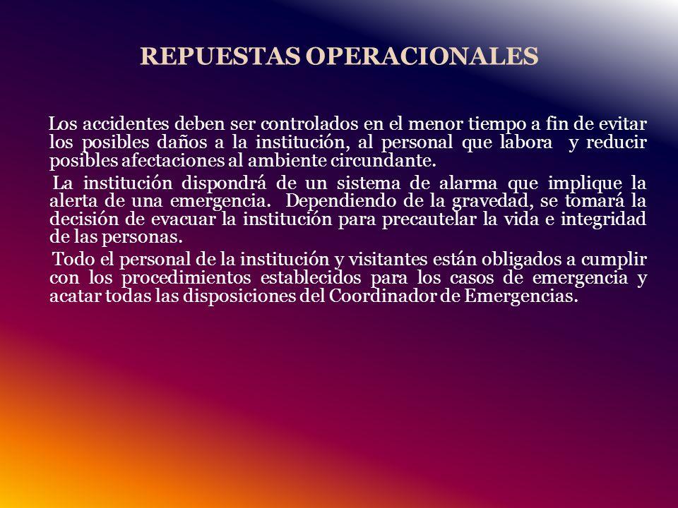 REPUESTAS OPERACIONALES