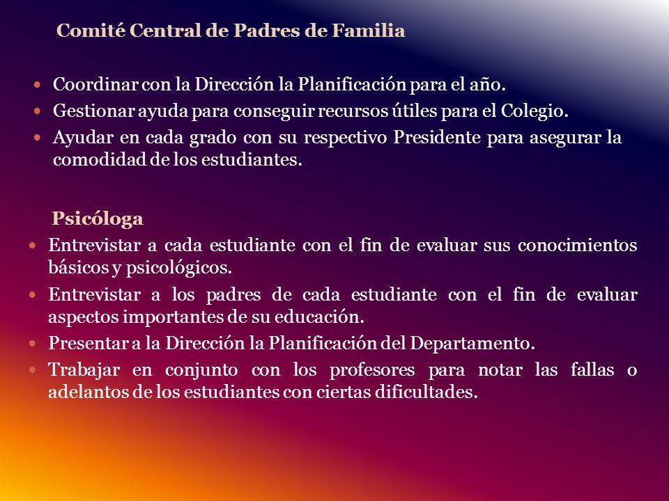 Comité Central de Padres de Familia