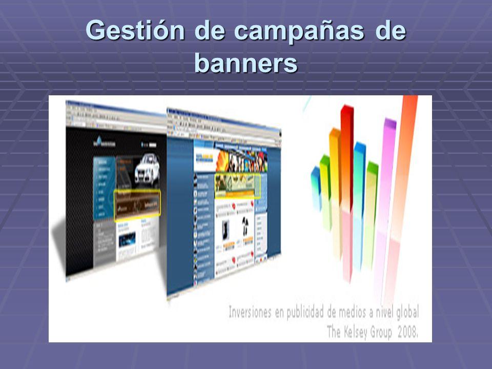 Gestión de campañas de banners