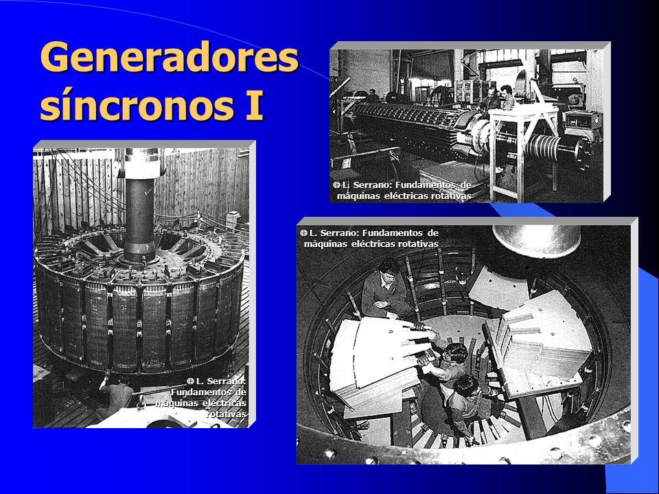 Generadores síncronos I