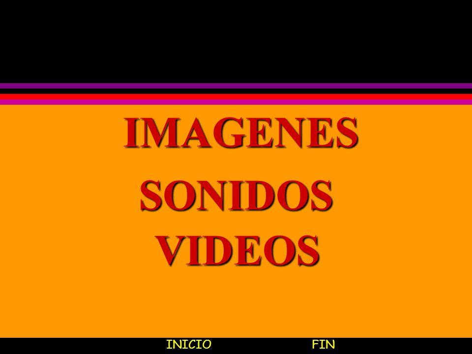 IMAGENES SONIDOS VIDEOS