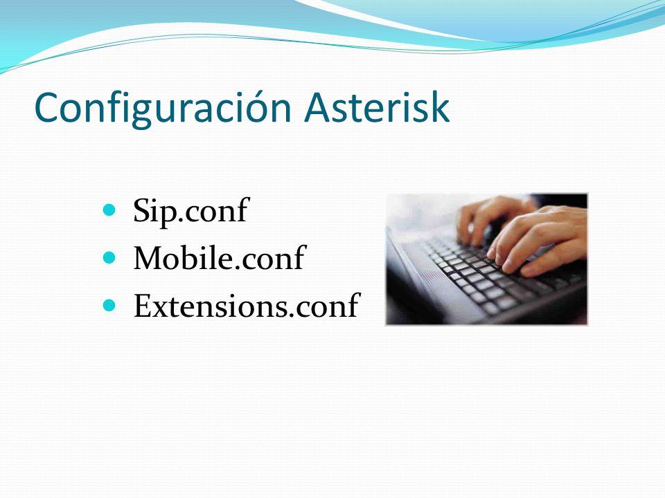 Configuración Asterisk