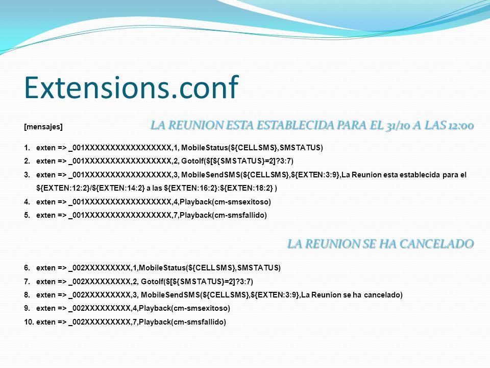 Extensions.conf LA REUNION ESTA ESTABLECIDA PARA EL 31/10 A LAS 12:00