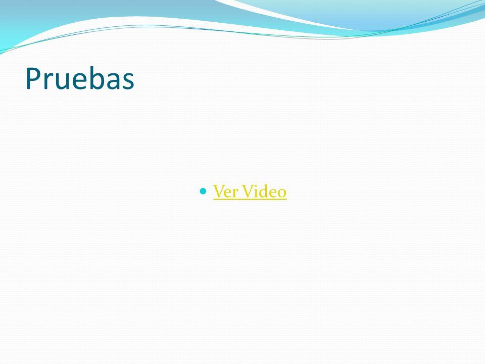 Pruebas Ver Video