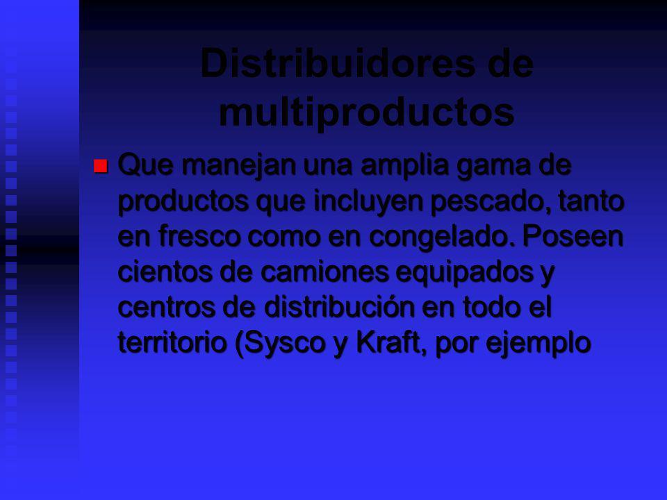 Distribuidores de multiproductos