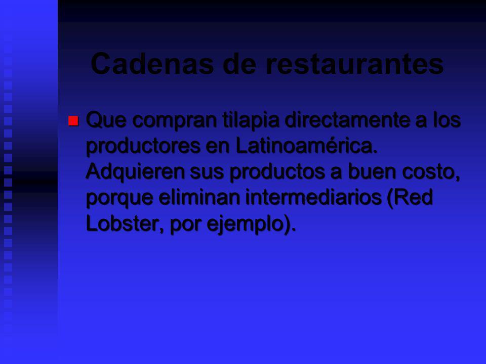 Cadenas de restaurantes