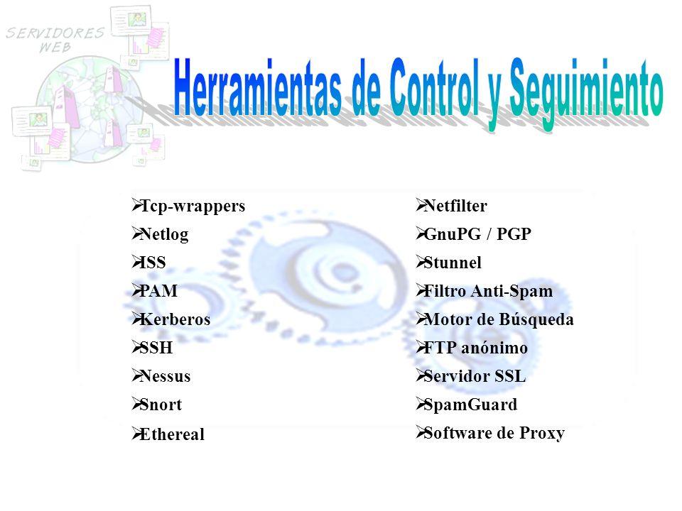 Herramientas de Control y Seguimiento