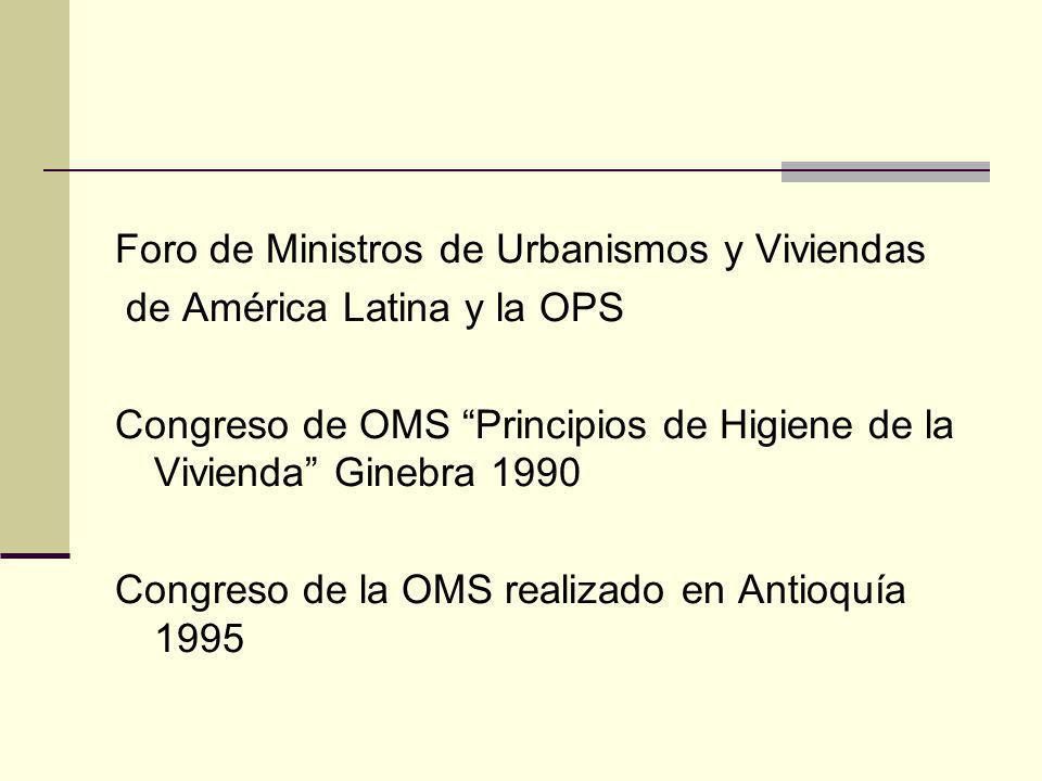 Foro de Ministros de Urbanismos y Viviendas