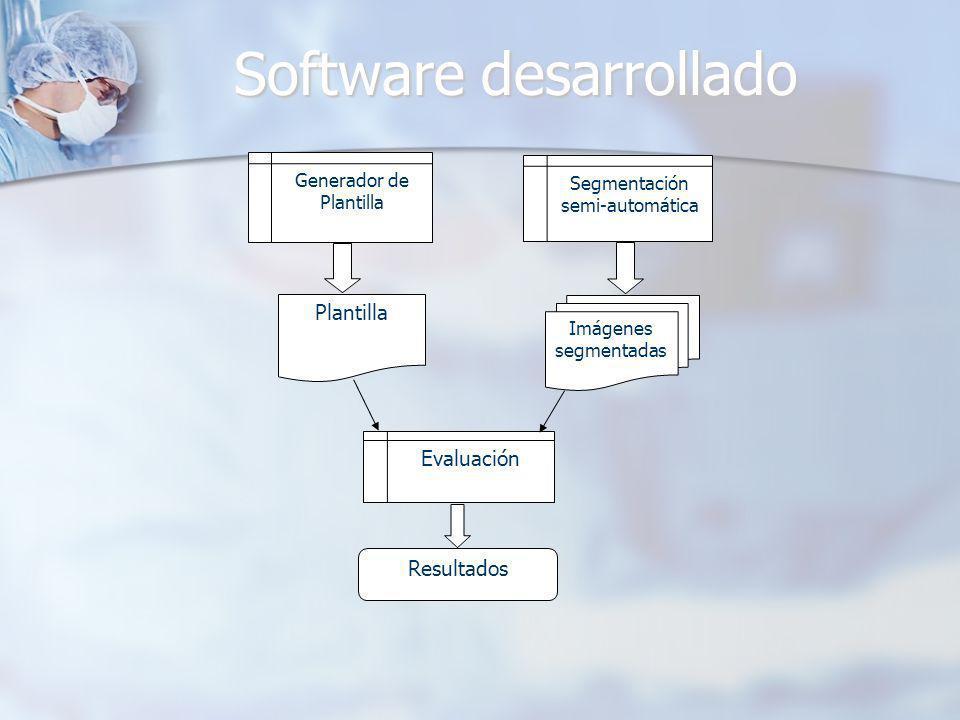 Software desarrollado