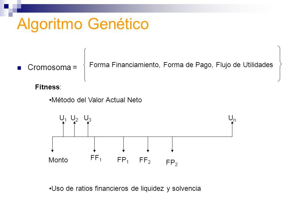Algoritmo Genético Cromosoma =