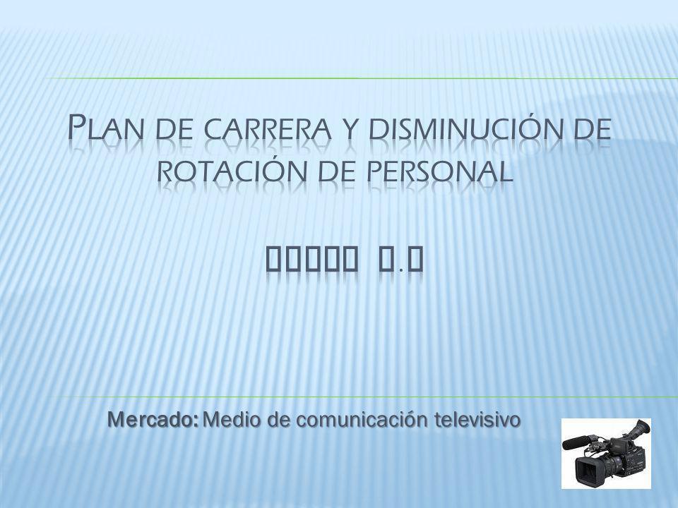 Plan de carrera y disminución de rotación de personal COMTV S.A
