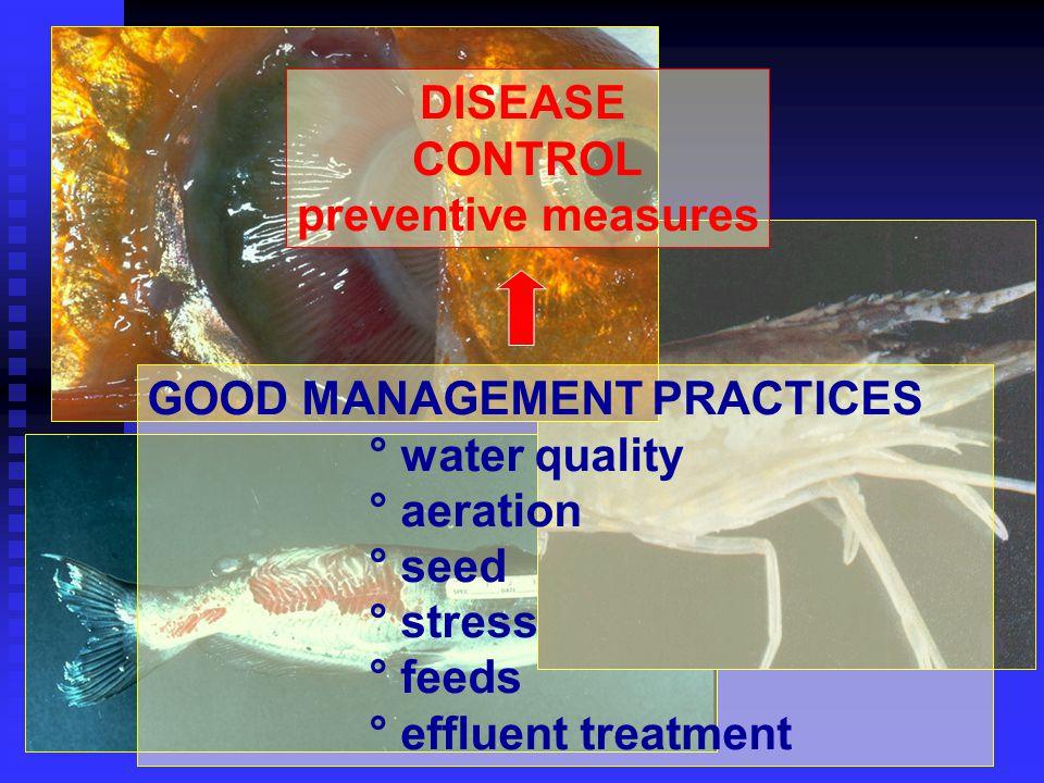 DISEASE CONTROL preventive measures