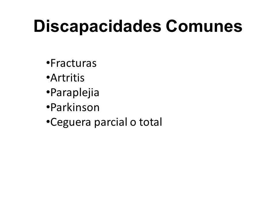 Discapacidades Comunes