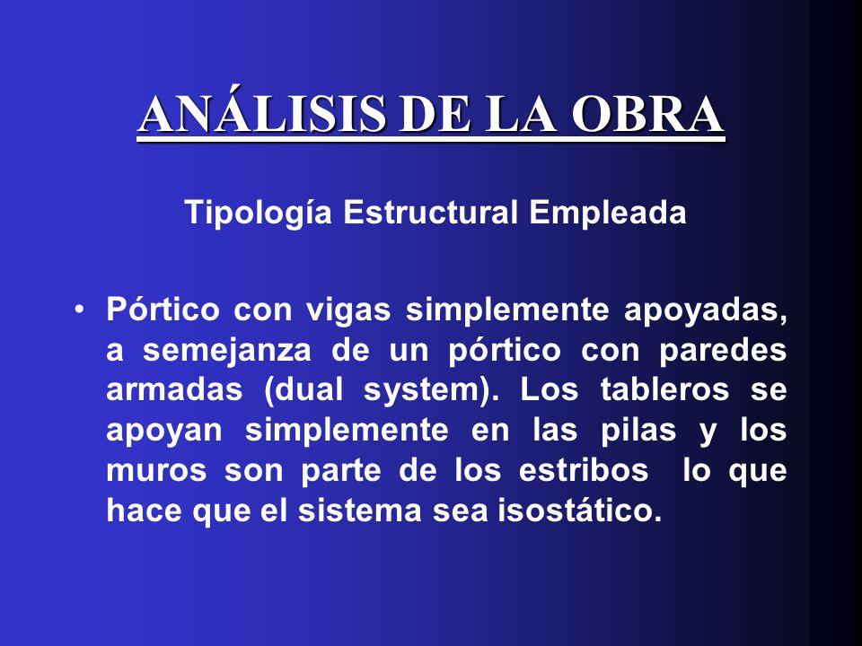 Tipología Estructural Empleada